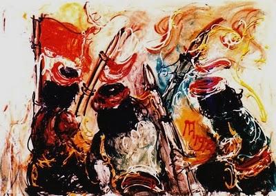 Apresiasi 2 Karya Lukisan Affandi Seni Budaya Smasa